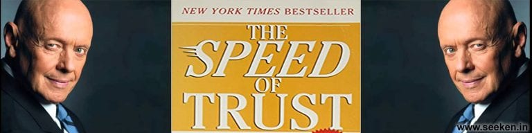 The SPEED of Trust By Stephen M.R. Covey – Book Summary