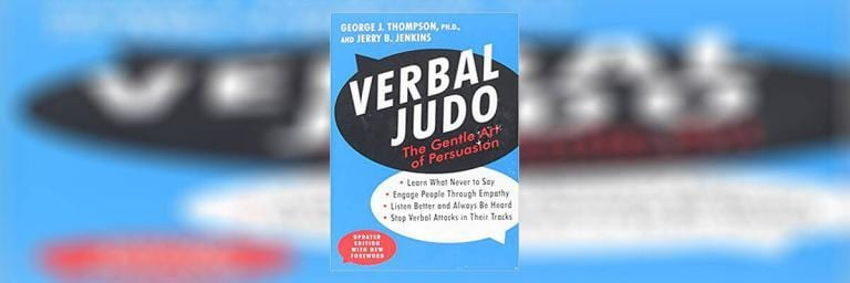 Verbal Judo Book Summary / Review