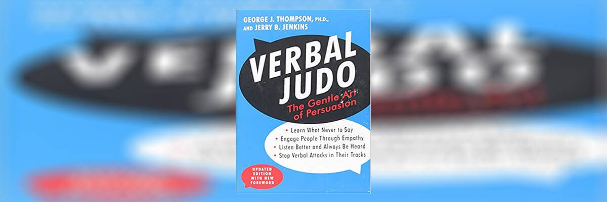 Verbal Judo Book Summary - Review